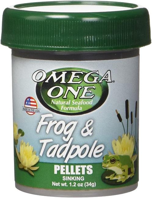Omega One Frog & Tadpole Pellets 1.2oz