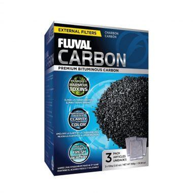 Fluval Carbon 3Pk x 100 g (3.5 oz)