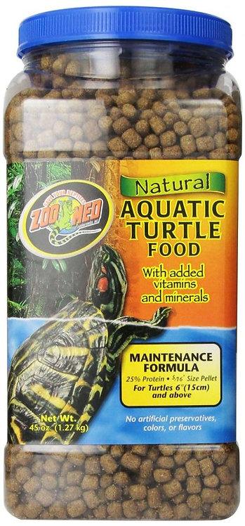 Zoo Med Aquatic Turtle Food Maintenance Formula 42oz