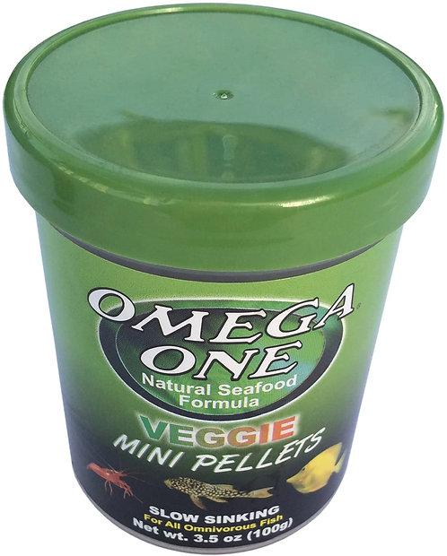 Omega One Veggie Mini Sinking Pellets