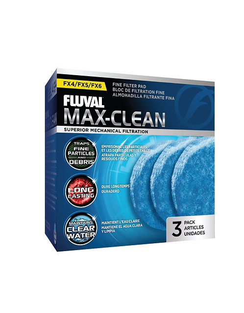 Fluval FX4/FX5/FX6 Fine Filter Pads 3Pk