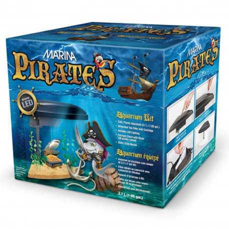 Marina Pirates Aquarium Kit 3.7 L