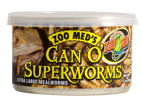 Zoo Med Can O Superworms 1.2oz
