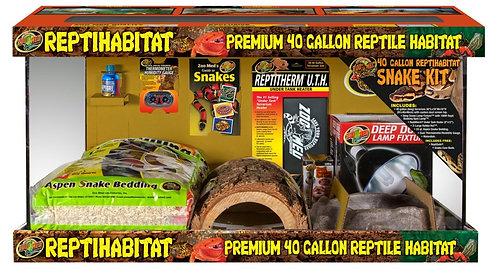 Zoo Med ReptiHabitat Terrarium  Snake Kit 40Gal