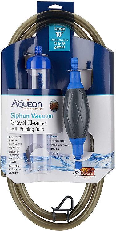 Aqueon Siphon Vacuum W/Bulb 10In