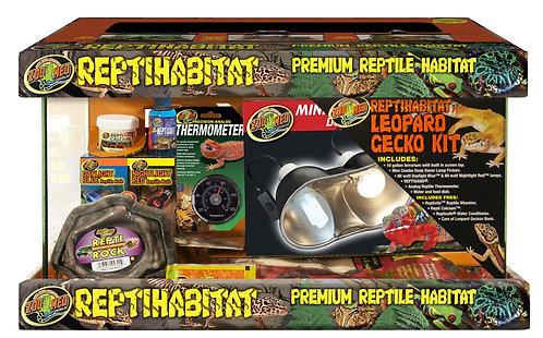 Zoo Med  ReptiHabitat  Leopard Gecko Kit 10Gal