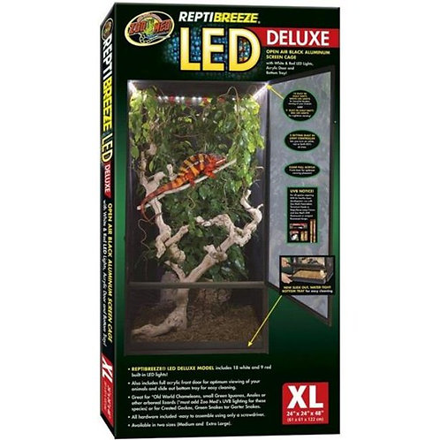 Zoo Med Reptibreeze Led Deluxe 24x24x48