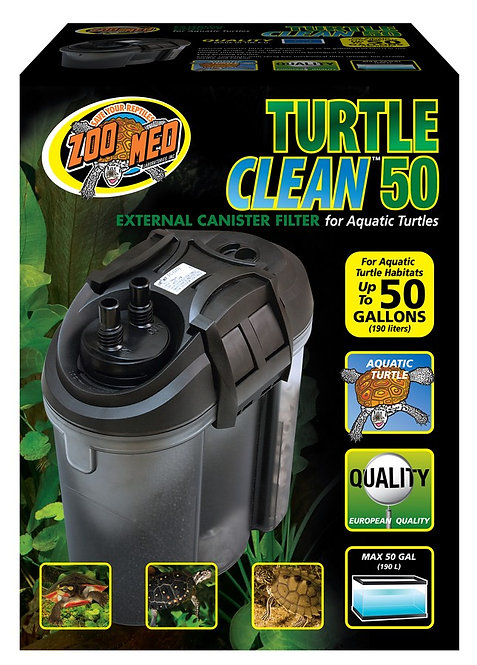 Zoo Med Turtle Clean 50 - External Canister Filter 50 Gal