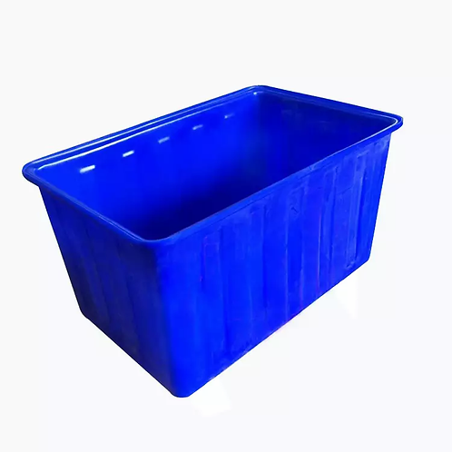 Blue Plastic Pond