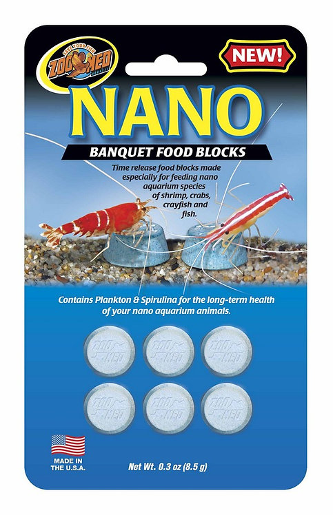 Zoo Med Nano Banquet Food Block 0.45oz
