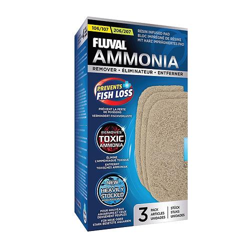 Fluval 106/206, 107/207 Ammonia Remover 3PK
