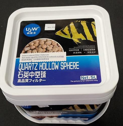 UJW Quartz Hollow Sphere 5L