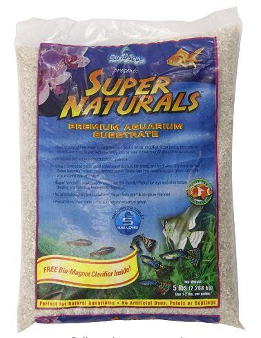 Carib Sea Super Naturals Brown Sand 5L