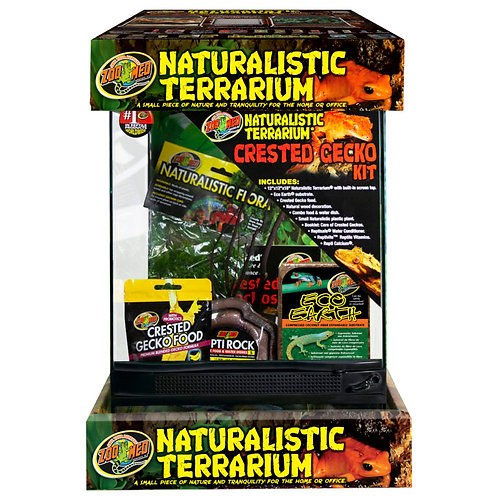 Zoo Med Naturalistic Terrarium Crested Gecko Kit