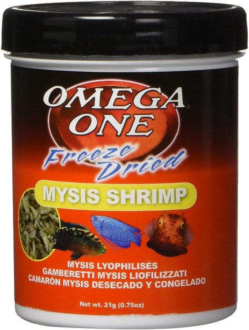 Omega One Freeze Dried Nutri-Treats Mysis Shrimp .75oz