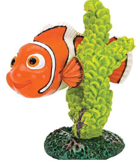 Penn Plax Nemo Whit Green Coral