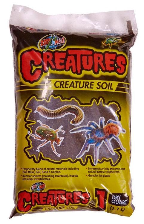 Zoo Med Creatures Soil 1 qt