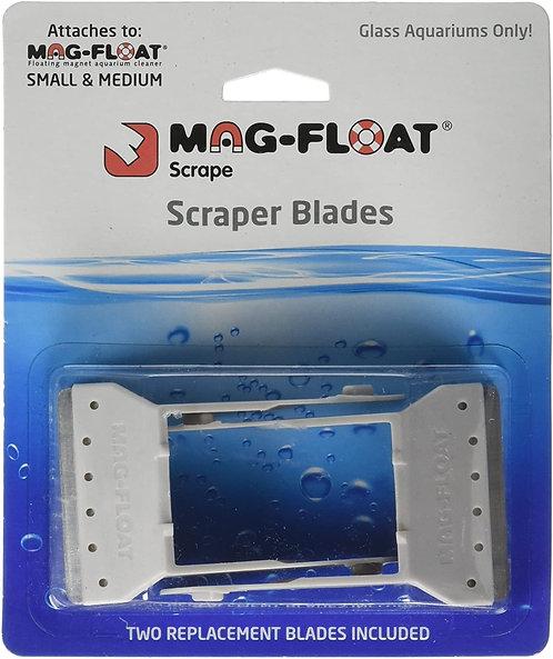 Mag Float 2 Pk Scraper Blades Small/Medium