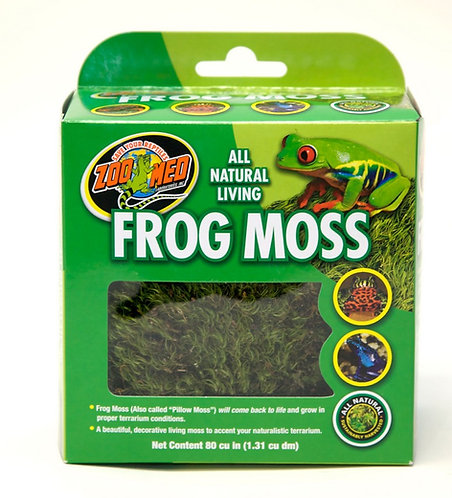 Zoo Med All Natural Frog Moss 80 cu. In.