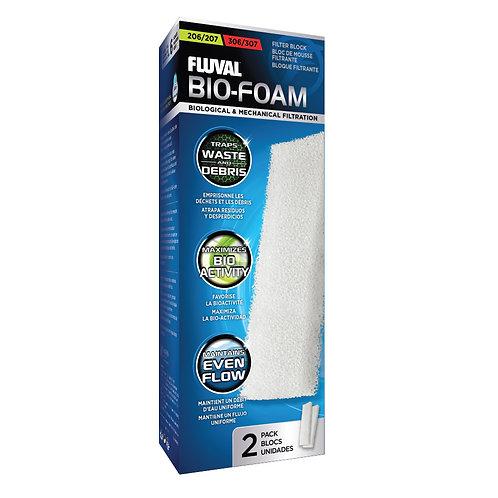 Fluval 206/306, 207/307 Bio-Foam Filter Block 2Pk
