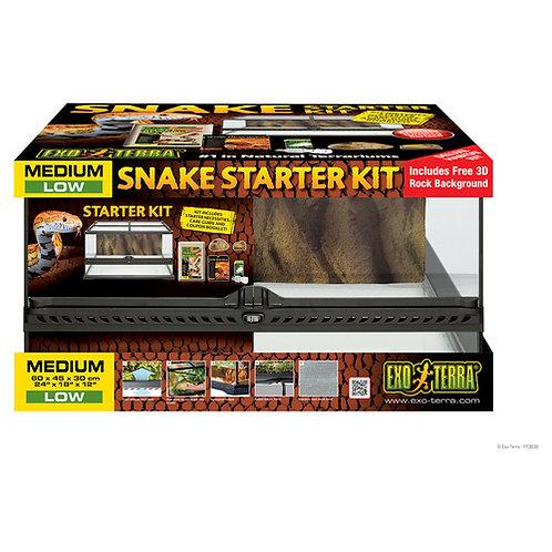 Exo Terra Snake Starter Kit Medium Low