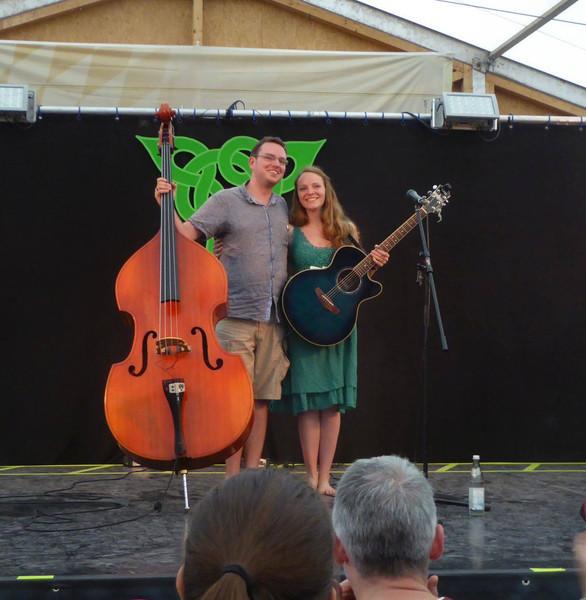 Mit Lisa Fitzek auf dem Greenfarm Festival