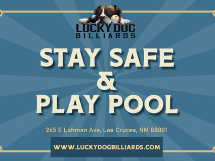 Stay Safe & Play Pool
