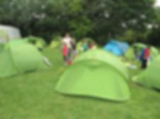 Accueil des centres aérés au Camping les Cytise