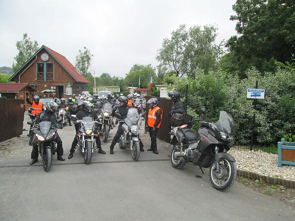 Séjour groupe de motards au camping les Cytises