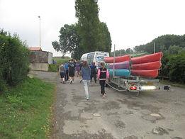 Sortie en kayak au camping des Cytises