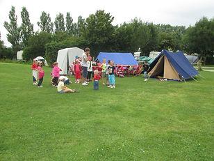 Accueil colonies de vacances au camping les Cytises