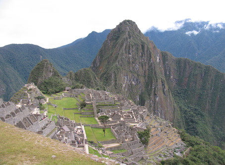 Machu Picchu: overwhelming and sublime.