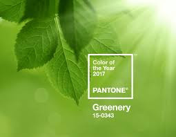 Pantone Greenery Color of the Year 2017