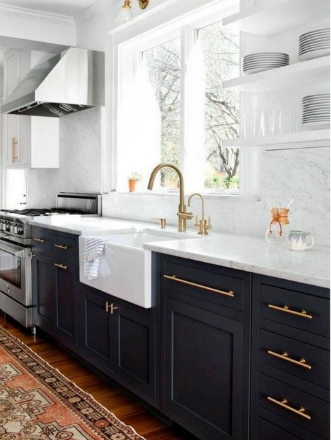 2017 Design Trends Marble and Brass