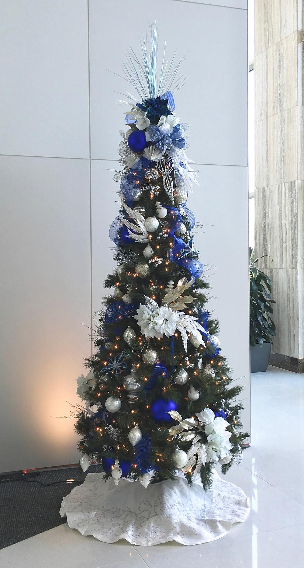 Hanukkah tree