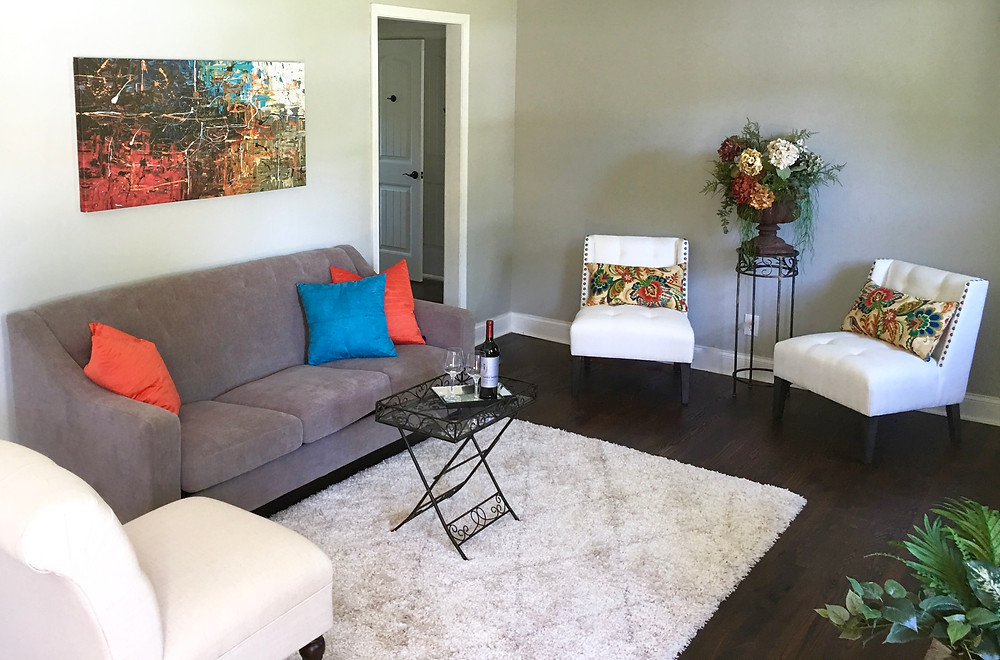 Staging sells homes fast!