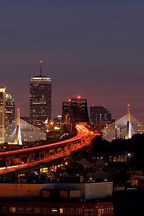 Boston MA zakim bridge