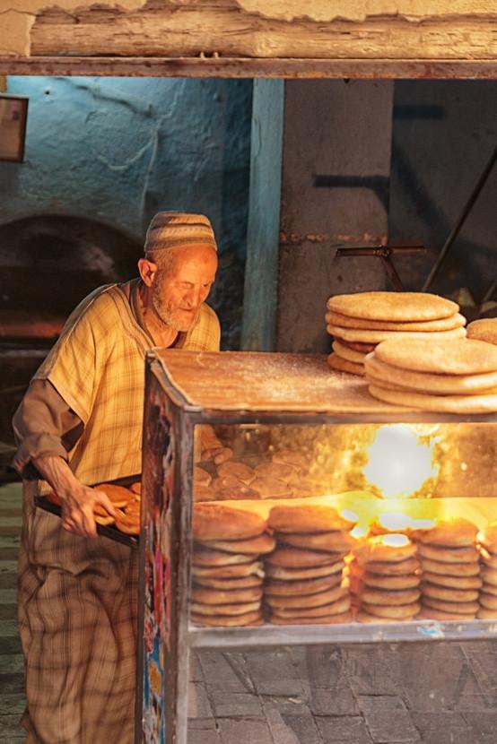 Bakery, Fes medina