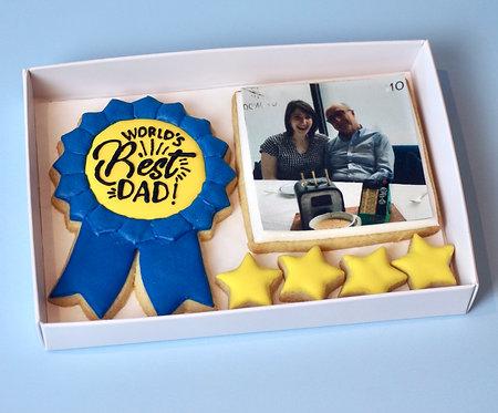 Worlds Best Dad Photo Box