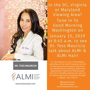 ALMI Dr. Tess on Good Morning Washington