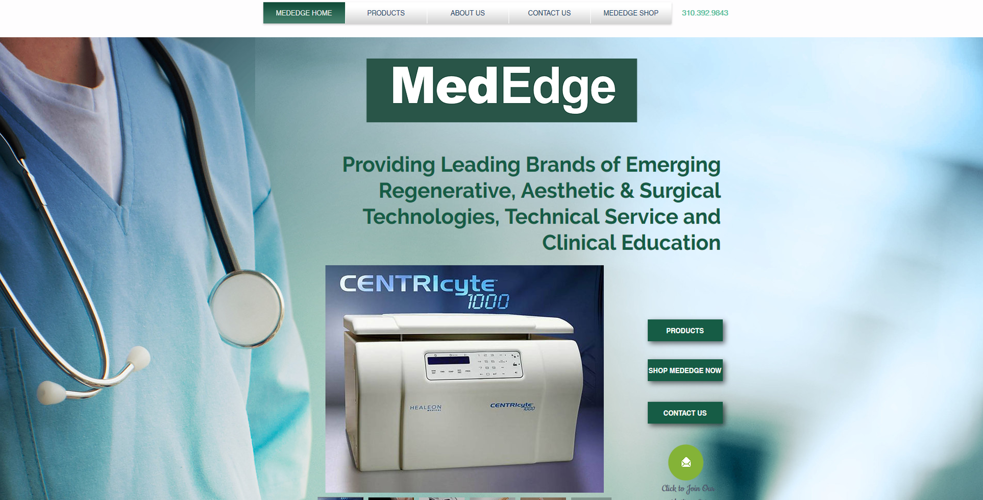 MedEdge website