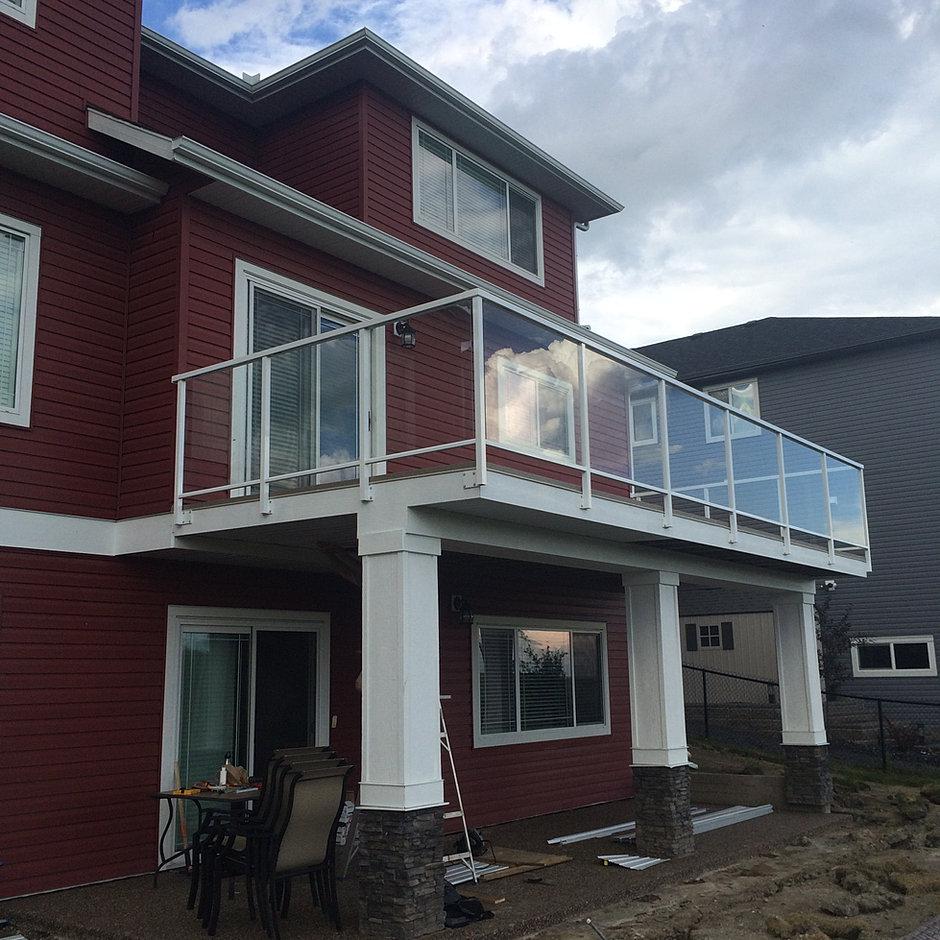 aluminum decking calgary | Aluminum Railings | Calgary | Heritage Deck & Rail