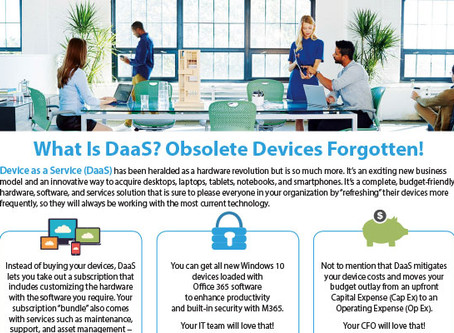 What Is DaaS? Obsolete Devices Forgotten!