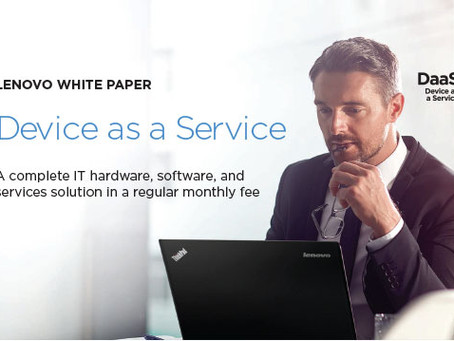 Lenovo Device as a Service White Paper