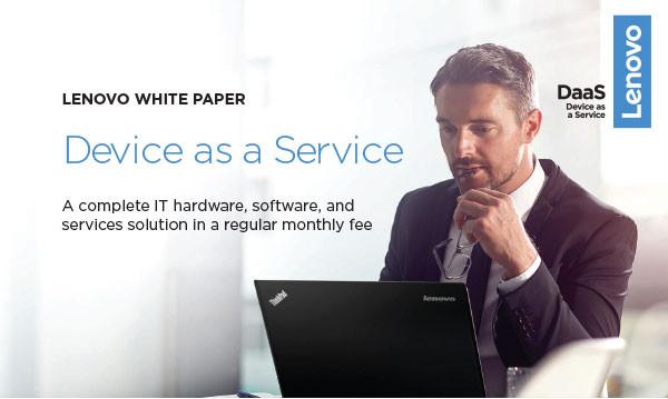 Lenovo Device as a Service White Paper