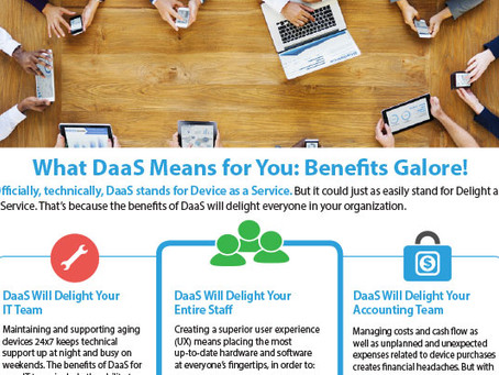 What DaaS Means for You: Benefits Galore!