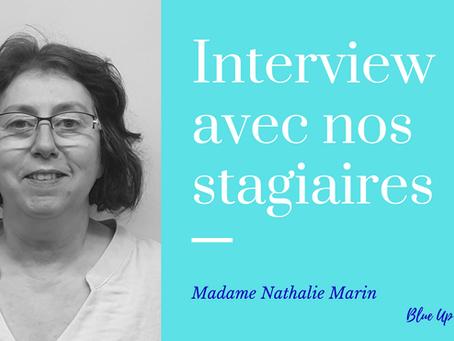 Interview de Nathalie Marin, une stagiaire en #BPJEPS AS