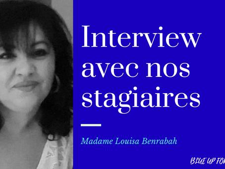 Interview de nos anciens stagiaires: témoignage de Louisa Benrabah #DESJEPS 2019