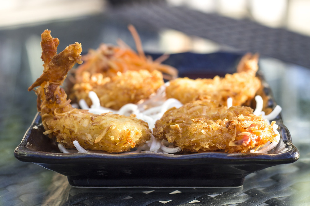 Coconut and Rum Fried Shrimp