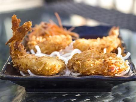 Coconut & Rum Fried Shrimp